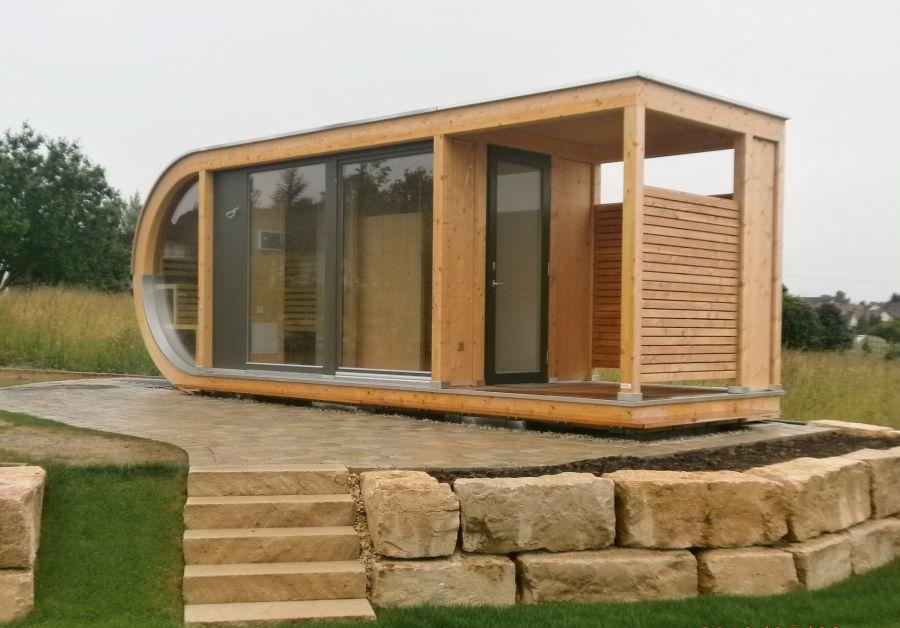 Architekt Design Gartenhaus: Feiner Schreiner